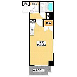 ライオンズマンション河辺第二[503号室号室]の間取り