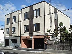 北海道札幌市東区北十六条東18丁目の賃貸アパートの外観