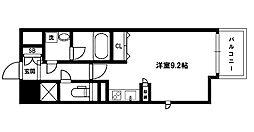 グレンパーク新大阪II[15階]の間取り