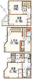 [テラスハウス] 東京都杉並区南荻窪3丁目 の賃貸【/】の間取り