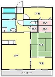 グランヴィア武庫之荘[1階]の間取り