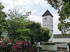 周辺環境:中学校 1400m 稲城市立稲城第五中学校