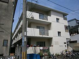 大阪府茨木市五十鈴町の賃貸マンションの外観