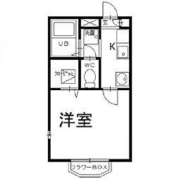 コンフォート[2階]の間取り