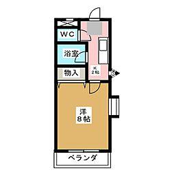シャトー24[1階]の間取り