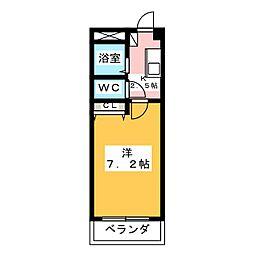 トリコロールハウス加藤[2階]の間取り