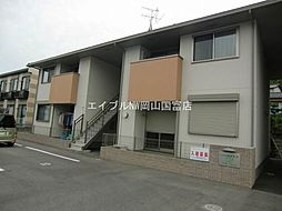 岡山県岡山市東区瀬戸町瀬戸丁目なしの賃貸アパートの外観