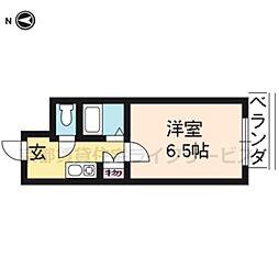 七条ビル[206号室]の間取り