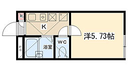 ロッシェル5[203号室]の間取り