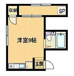 オリオンハウス[2階]の間取り
