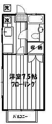 メゾン四季[2階]の間取り