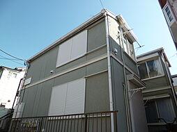 東京都調布市富士見町4丁目の賃貸アパートの外観