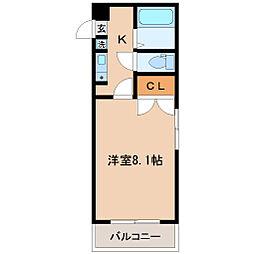 TS五輪ビル[8階]の間取り