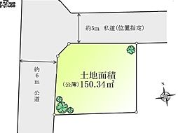 区画図小平市花...