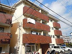 大阪府豊中市東泉丘2の賃貸マンションの外観
