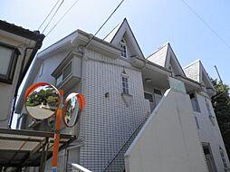 東京都東久留米市神宝町1丁目の賃貸アパートの外観