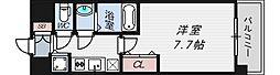 インザグレイス桜ノ宮[3階]の間取り
