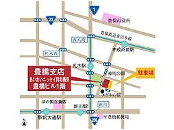 豊橋支店 地図...