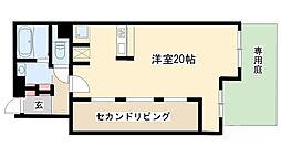 愛知県名古屋市昭和区元宮町5丁目の賃貸マンションの間取り