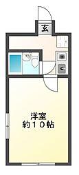 ライオンズマンション津田沼第5[1階]の間取り