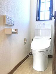 2Fトイレも1F同様、保温・洗浄機能付きです。