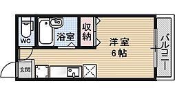 ブリックフォートアシハラ[402号室号室]の間取り