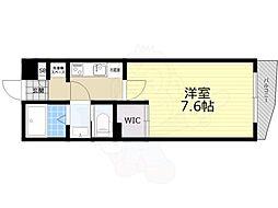 京王井の頭線 井の頭公園駅 徒歩8分の賃貸マンション 3階1Kの間取り