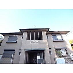 奈良県奈良市赤膚町の賃貸アパートの外観