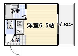 ヴィラナリー紅屋[3階]の間取り