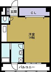フクモトパークビュー[3階]の間取り
