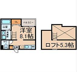 CONFORT大畑 (コンフォールオオハタ)[1階]の間取り