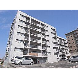 奈良県生駒市萩の台の賃貸マンションの外観