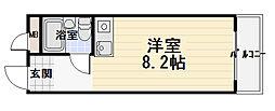 第3ニシキマンション[306号室]の間取り