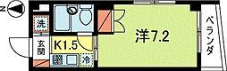 深澤ビル[4階]の間取り