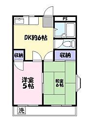 柳島共和ビル[3階]の間取り