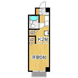 グランメゾン田[1階]の間取り