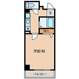 アーク大島[2階]の間取り