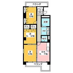 錦町ビルディング[5階]の間取り