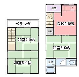 [一戸建] 兵庫県姫路市大津区天満 の賃貸【/】の間取り