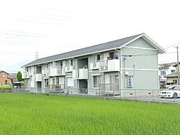 三重県四日市市白須賀2丁目の賃貸アパートの外観
