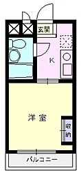 エマーユ川越脇田[306号室号室]の間取り