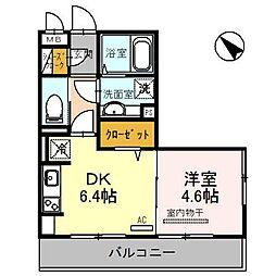 エーデルハウス[3階]の間取り