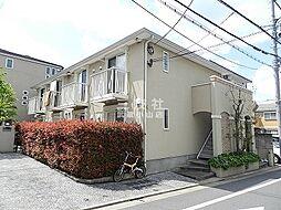 東京都品川区荏原7丁目の賃貸アパートの外観