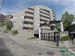 兵庫県宝塚市社町の賃貸マンションの外観