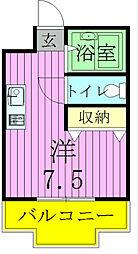 ジュネパレス松戸第02[105号室]の間取り