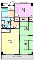 ソレイユ神田2棟[2階]の間取り