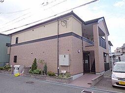 大阪府泉大津市東助松町4丁目の賃貸アパートの外観