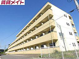 亀山マンションB棟[1階]の外観