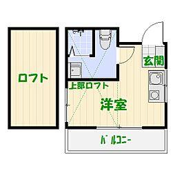 well-bお花[B号室]の間取り
