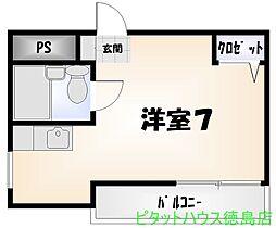 N'sマンション[501号室]の間取り